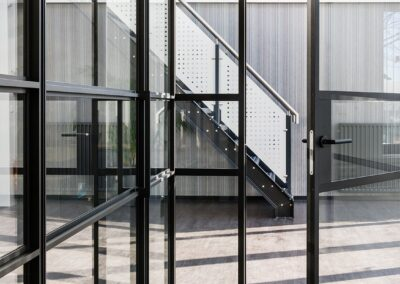 Entropal aluminiumbouwers met IDA binnenwandsysteem